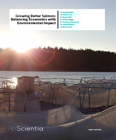 Dr Daniel Heath – Growing Better Salmon: Balancing Economics With Environmental Impact