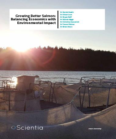Dr Daniel Heath – Growing Better Salmon: Balancing Economics With Environmental Impact