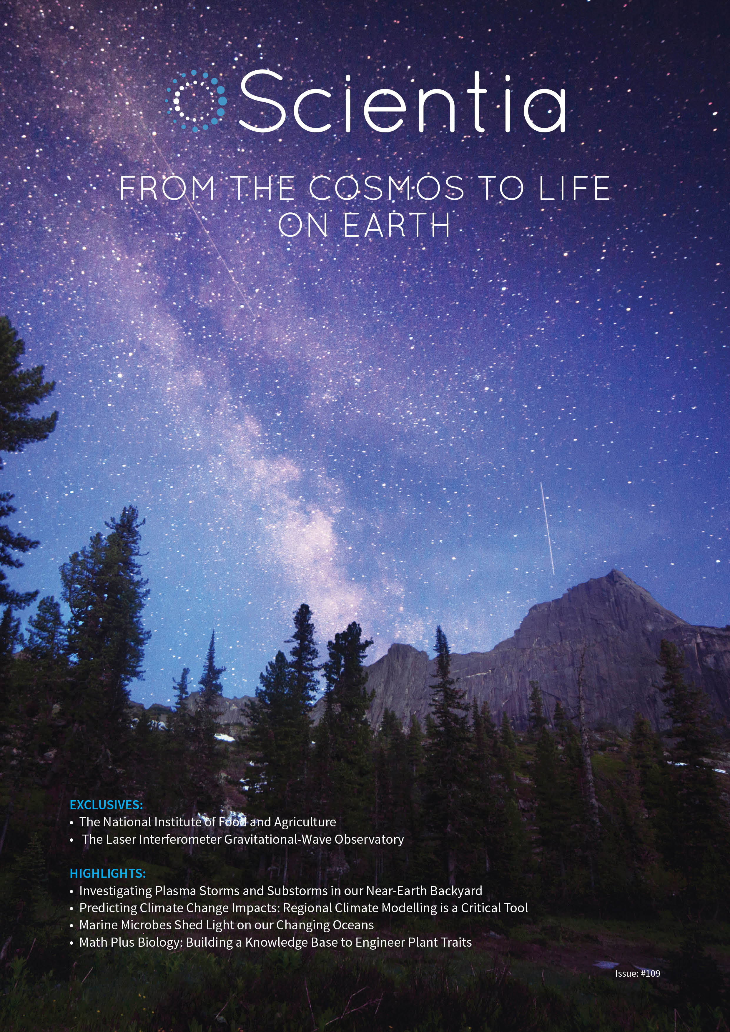 FROM THE COSMOS TO LIFE ON EARTH
