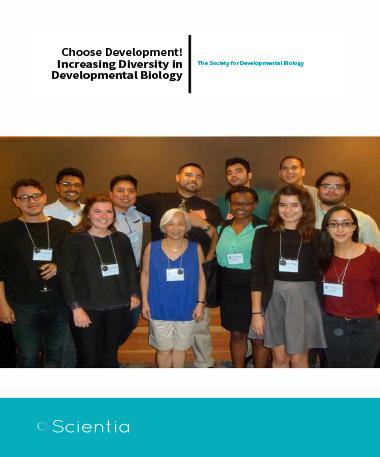 The Society For Developmental Biology – Choose Development! Increasing Diversity In Developmental Biology