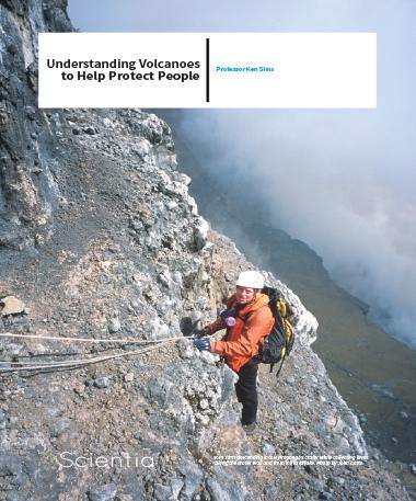 Professor Ken Sims – Understanding Volcanoes To Help Protect People
