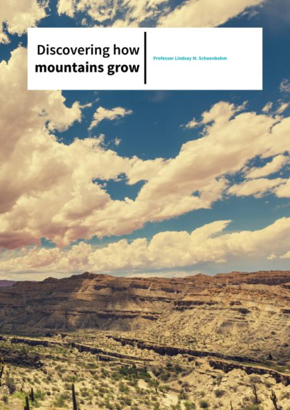 Professor Lindsay M. Schoenbohm – Discovering how mountains grow