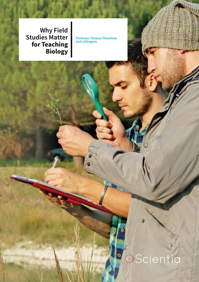 Professor Thomas Fleischner and colleagues – Why Field Studies Matter for Teaching Biology