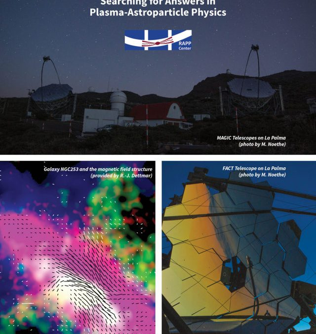 The RAPP Center: Searching for Answers in Plasma-Astroparticle Physics