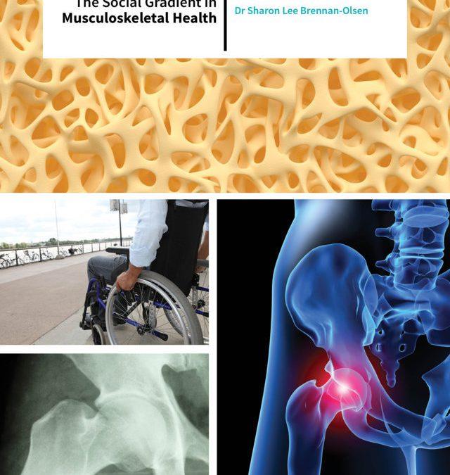 Dr Sharon Brennan-Olsen – The Social Gradient In Musculoskeletal Health