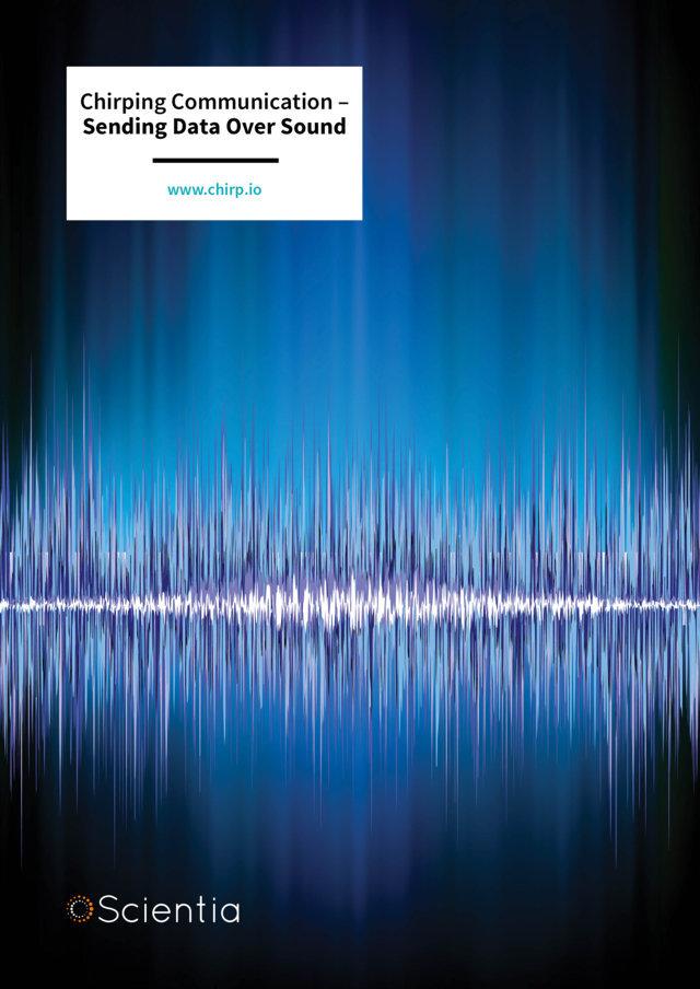 Chirping Communication – Sending Data Over Sound