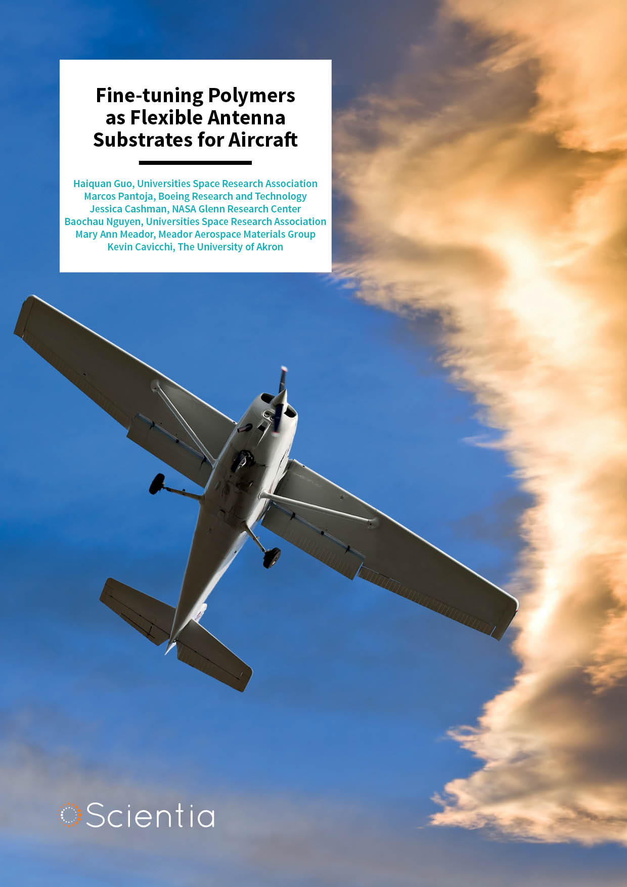 Fine-tuning Polymers as Flexible Antenna Substrates for Aircraft