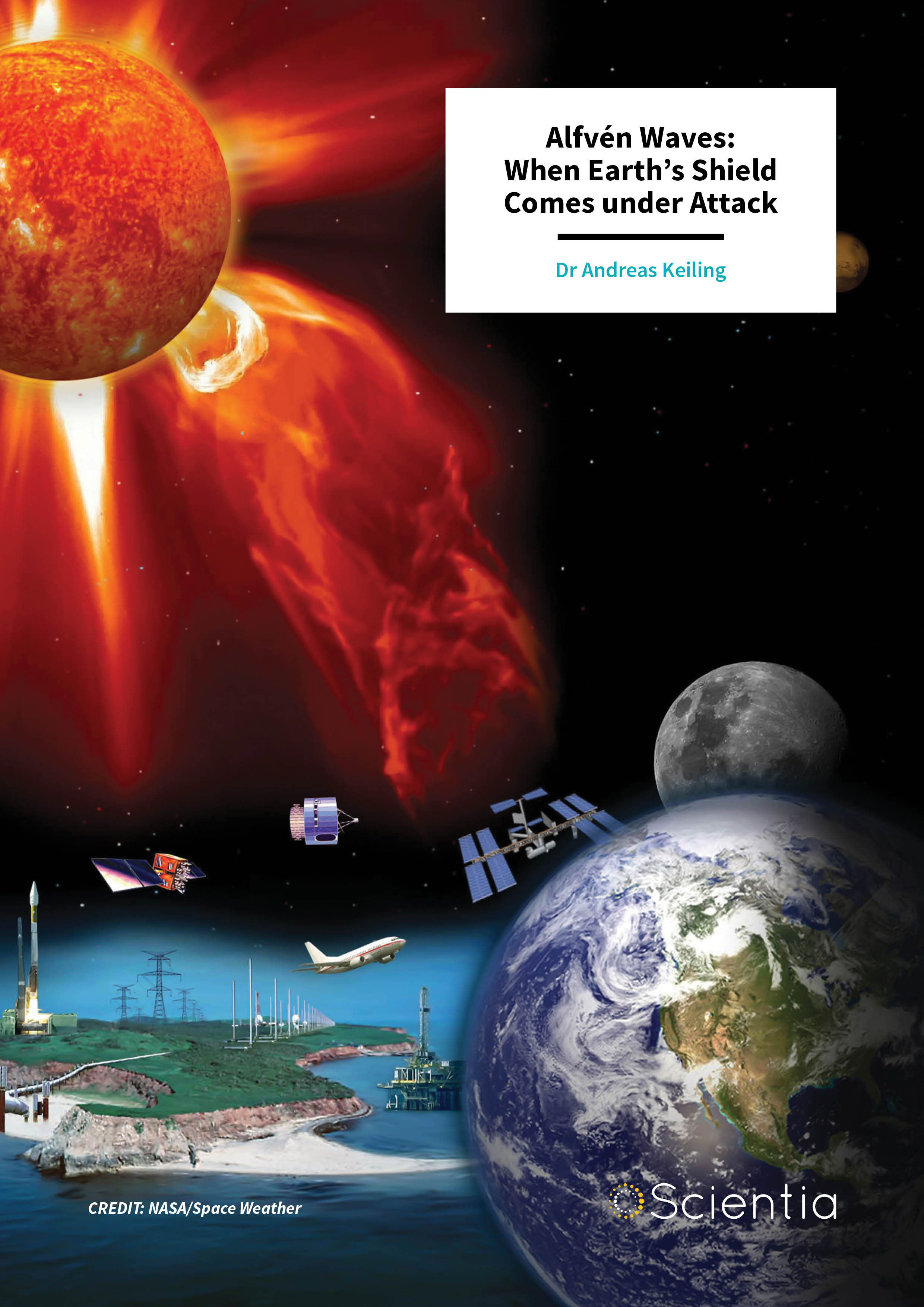 Dr Andreas Keiling – Alfvén Waves: When Earth's Shield Comes under Attack