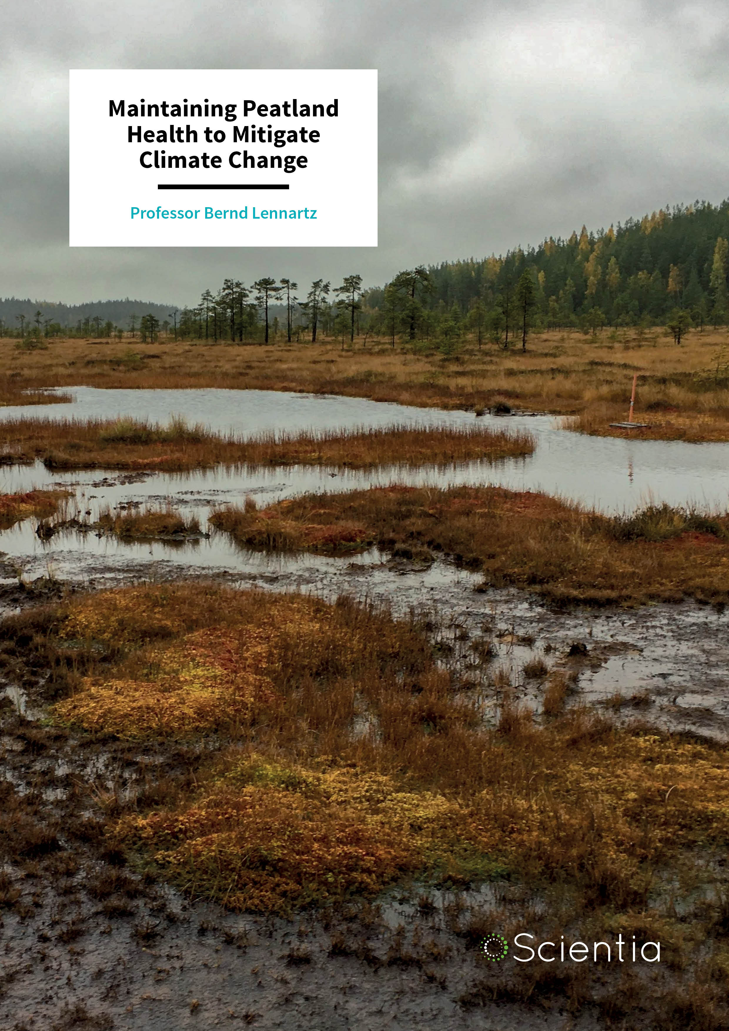 Dr Bernd Lennartz – Maintaining Peatland Health to Mitigate Climate Change