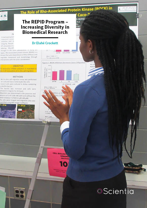 Dr Elahé Crockett – The REPID Program – Increasing Diversity in Biomedical Research