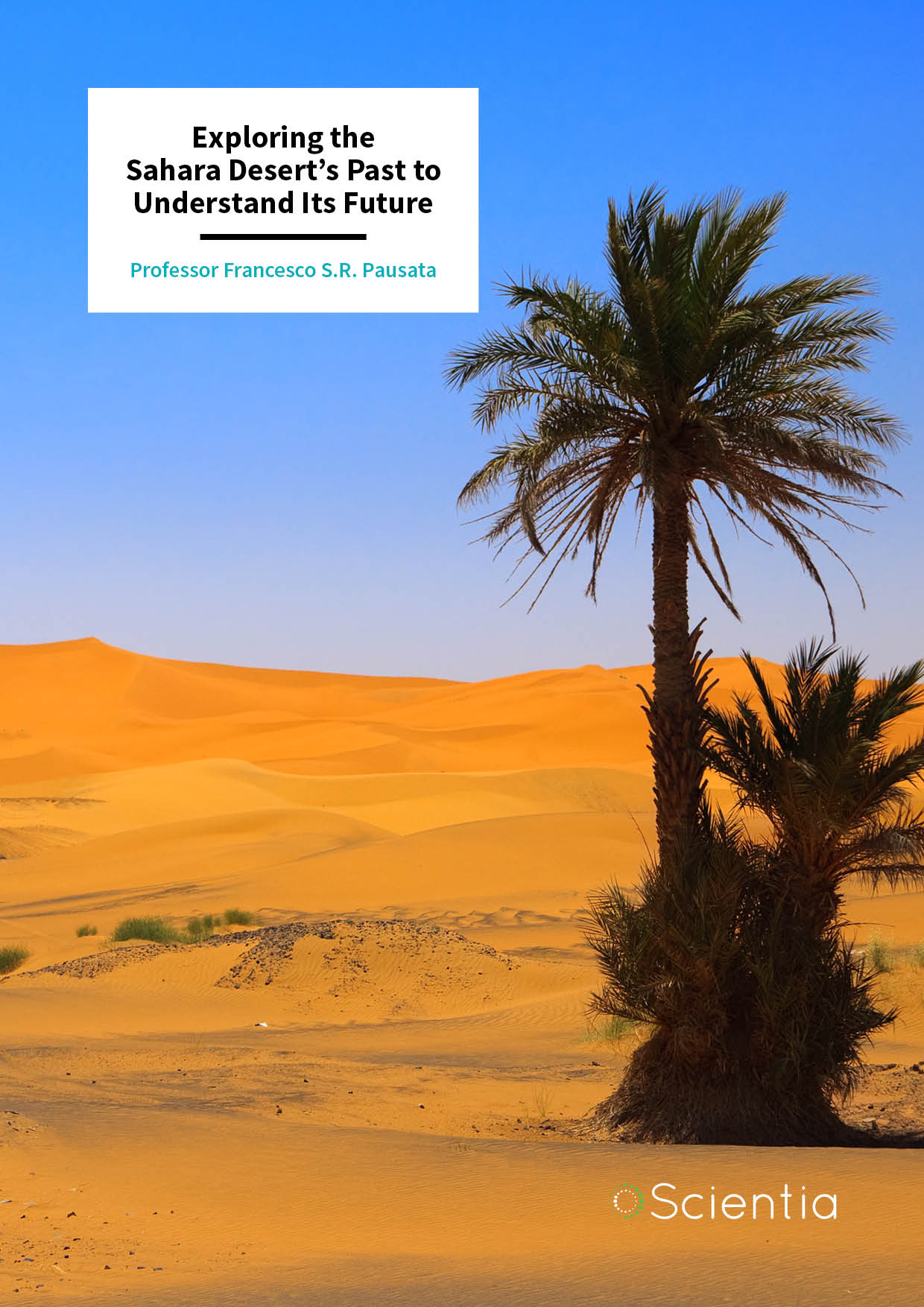 Dr Francesco Pausata – Exploring the Sahara Desert's Past to Understand Its Future