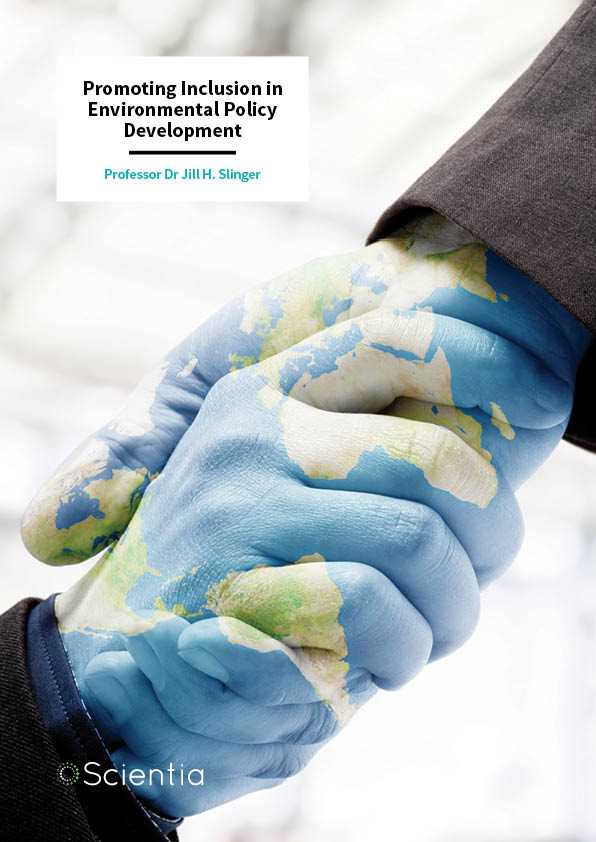 Dr Jill Slinger – Promoting Inclusion in Environmental Policy Development