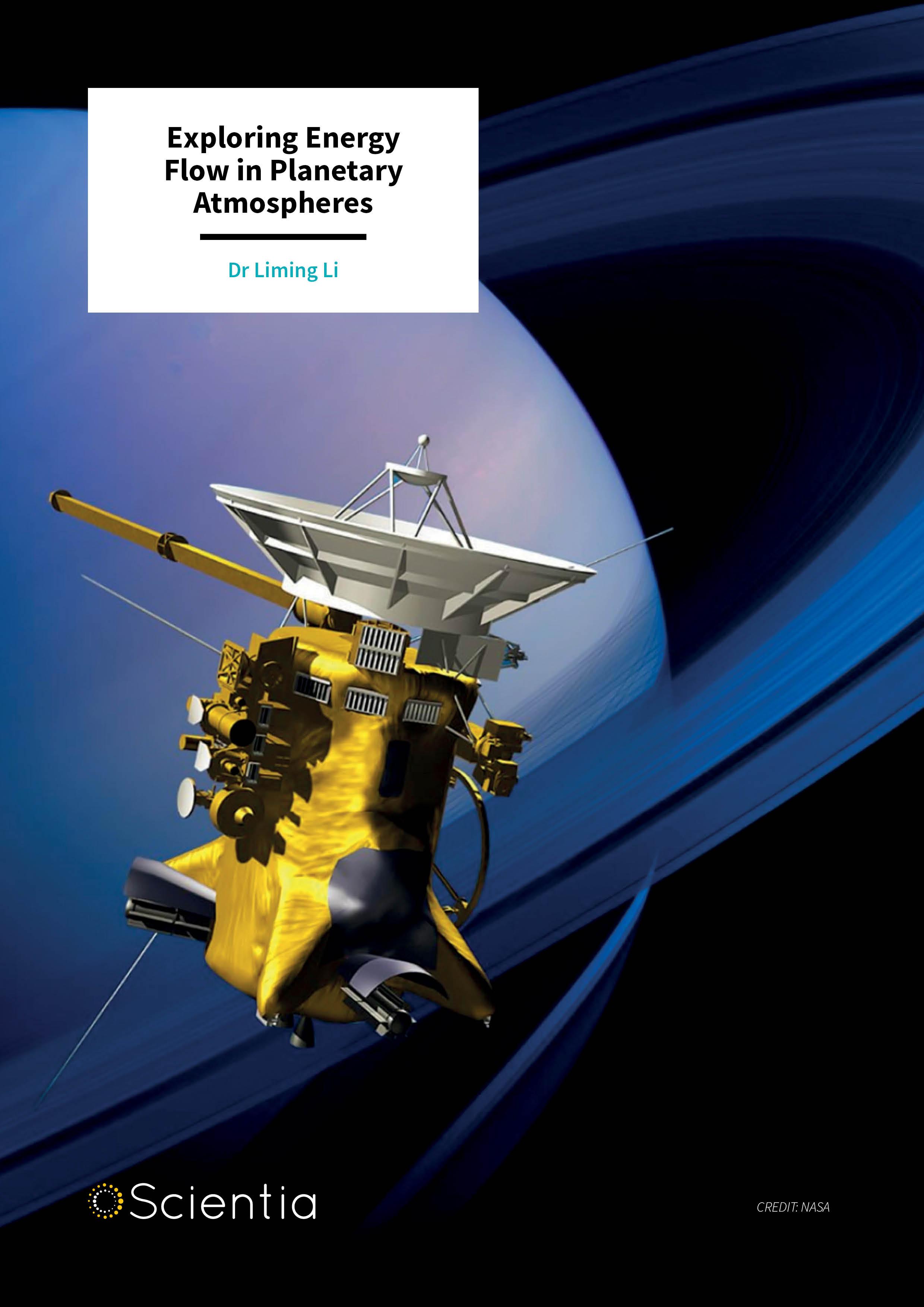 Dr Liming Li – Exploring Energy Flow in Planetary Atmospheres