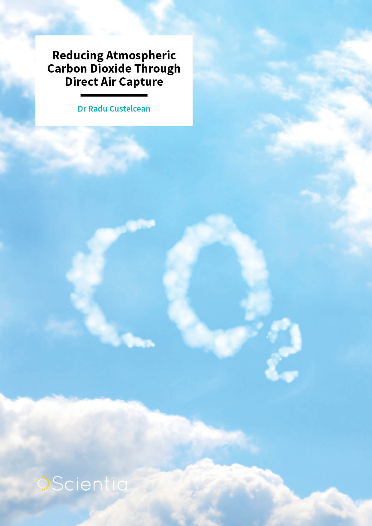 Dr Radu Custelcean  – Reducing Atmospheric Carbon Dioxide Through Direct Air Capture