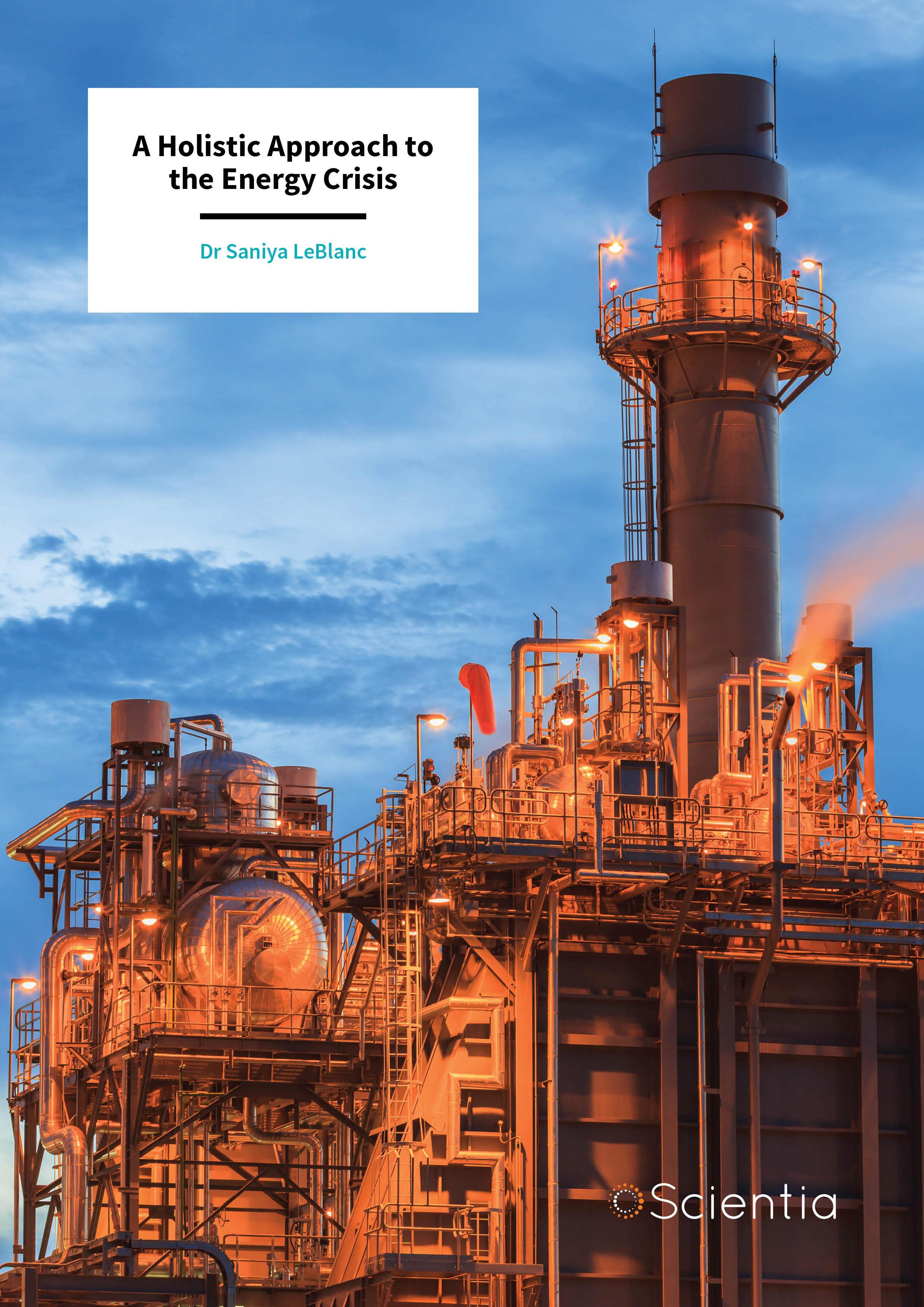 Dr Saniya LeBlanc – A Holistic Approach to the Energy Crisis